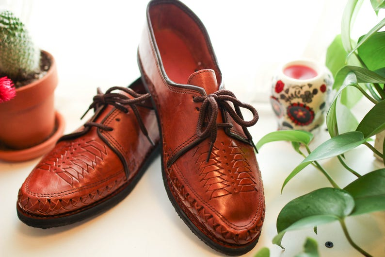 0b2355f391c91 Men s handmade 100% leather Shoes Mexican Huarache style