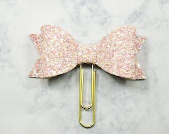 Gunmetal Olivia Bow paper clip