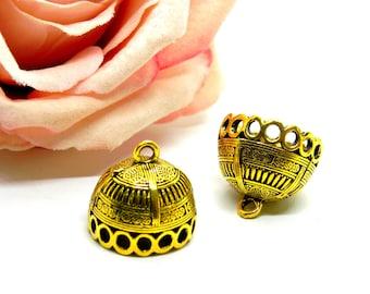 Indian beaker bell metal tip cap cap Indian knot cache knot cover candlestick belar Indian candlestick beaker