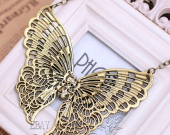 Butterfly connector hinged brass size: 13cm x11cm