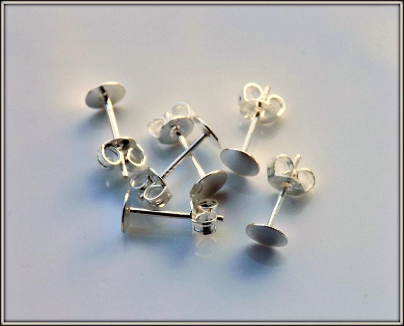 925 Apprêts Bijoux 5 mm Split Rings Sterling Silver