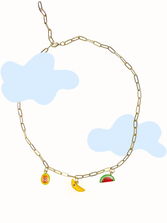 Happy Things Charm Necklace
