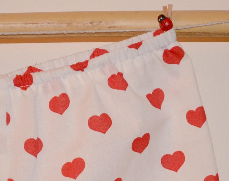 Bloomer bloomers baby shorts and Red 3months to the hearts 24 months child onesie