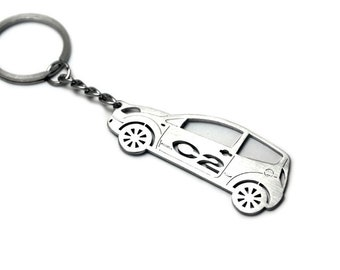 citroen keychain etsy Classic Cars From the 1970s keychain with ring made from stainless steel perfect gift for car owner fan car tuning accessories fit citroen c2