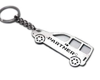peugeot keyring etsy Peugeot Old Body keychain with ring made from stainless steel keyfob rey ring fit peugeot partner i