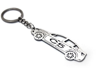 keychain for citroen etsy Citroen Cars USA keychain with ring made from stainless steel perfect gift for car owner fan car tuning accessories fit citroen c5 ii 4d