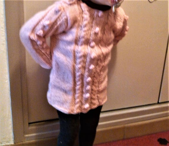 gift idea mother Comfortable Custom day Mothers set and Twisted warm handmade daughter sweaters ZwWgOfq
