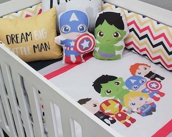 Marvel Avengers Nursery Bedding Set