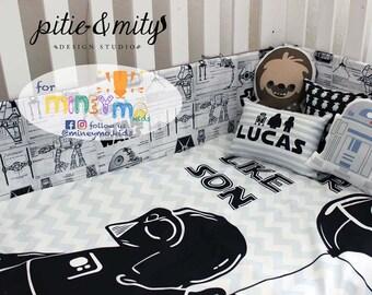 Star Wars Nursery Bedding Set
