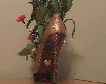 High heel Flower Arrangement