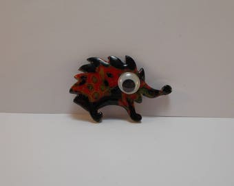 for creating polymer clay Hedgehog