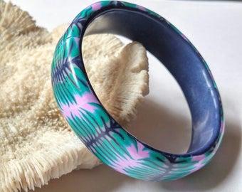 polymer clay bangle