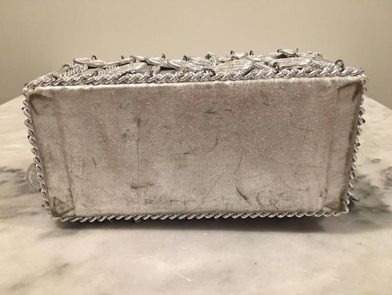 Walborg I. Magnin Silver Coin/Chain Handbag - image 4