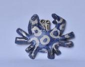 Ceramic Mid-century Inspired Crab Wall Hanging