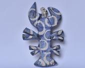 Ceramic Mid-century Inspired Lobster Wall Hanging