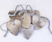 Pit Fired Hearts (Sold individually)