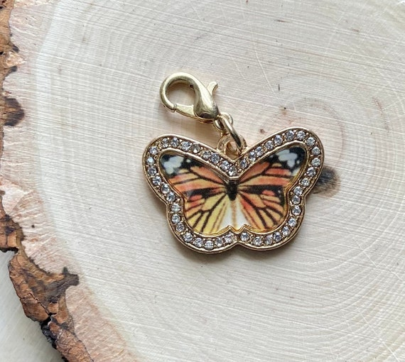 Monarch Butterfly charm