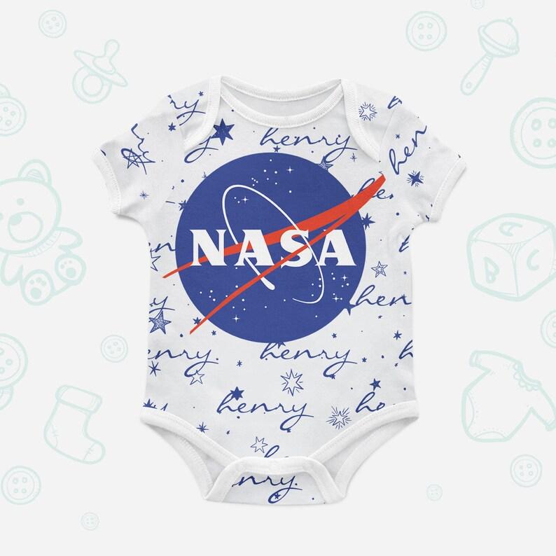 5e828797da7ec1 NASA Logo Bio Body-Bio Baby-Kleidung Geschenk trendige