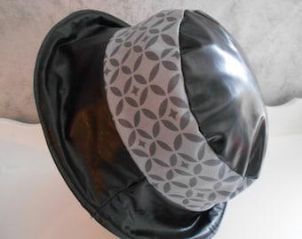 rain hat / / hood raincoat //chapeau woman //chapeau designer //chapeau made in france