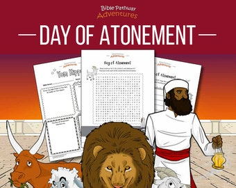 Day of Atonement Activity Book