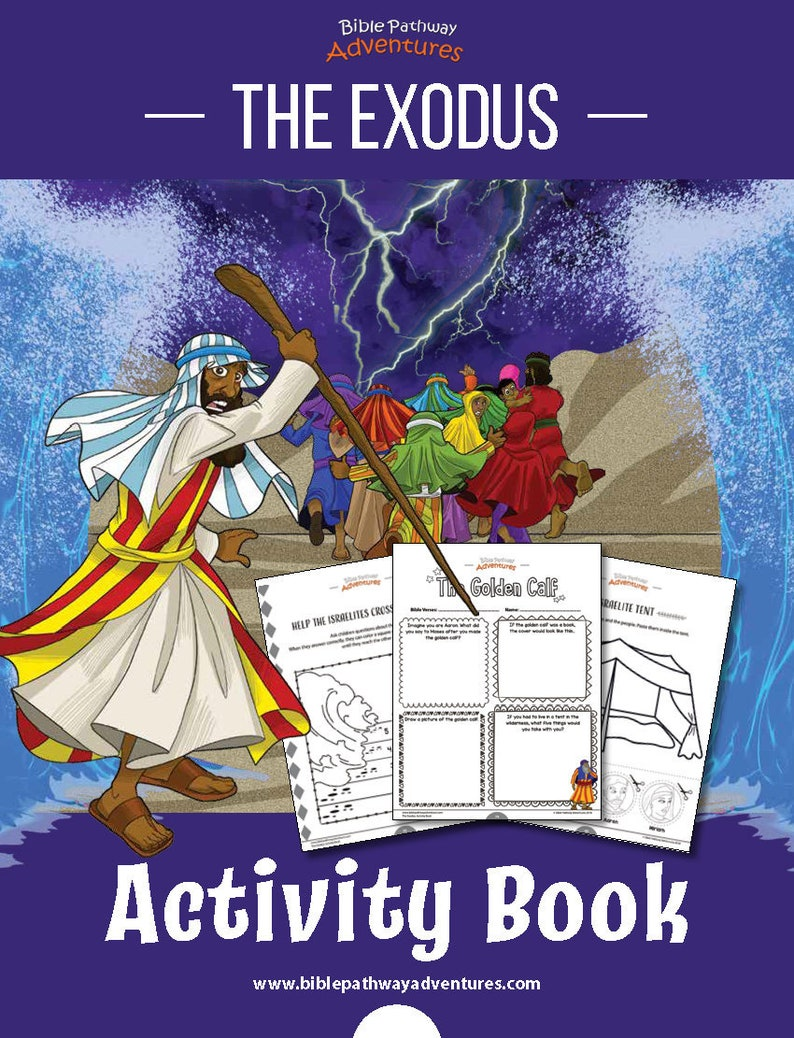 The Exodus Coloring Activity Book