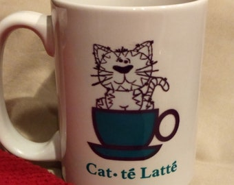 Cat-te' Latte Mug