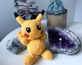 Pikachu Knitting Pattern