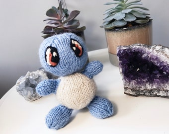 Squirtle Knitting Pattern