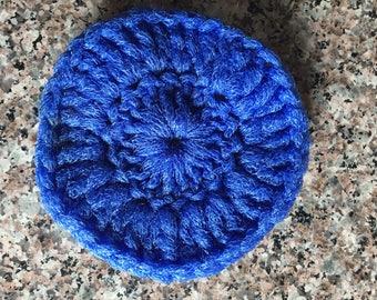 Nylon Pot Scrubber - Crochet