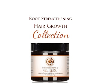 Strengthening Hair Butter |  100% Shea Butter made with essential Oils |  All Natural by Adorani Organics