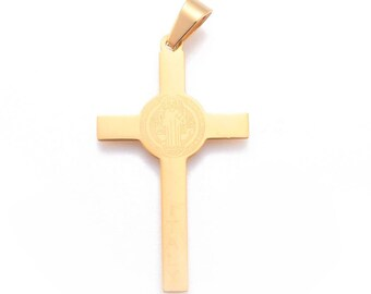 Miraculous Virgin,Padre Pio Holy Family 22 x 16 x 2 mm Hole 3 mm 1 Cross Sold to L unit