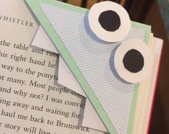 Adorable Monster Bookmarks