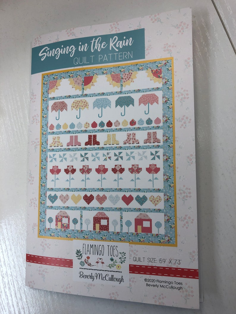 Singing in the Rain Quilt Kit image 0