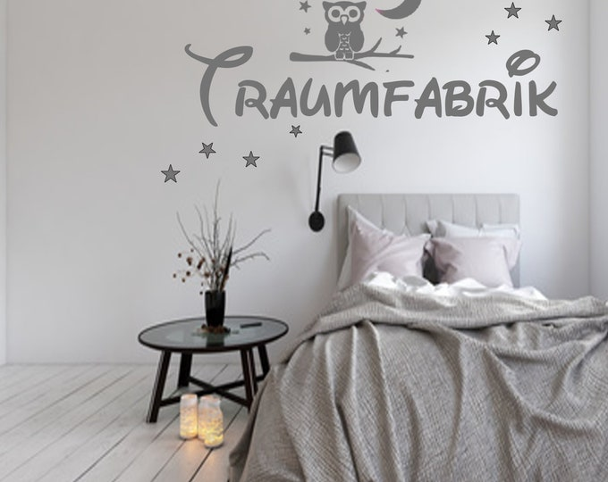 Wall Decal Wall Decal Dream Factory Owl Bedroom Wall Decors Nursery Girl Boys