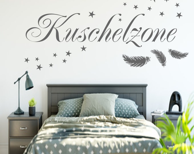 Cuddly Zone Wall Decal Wall Decal Bedroom Wall Sticker Vinyl Wall Art