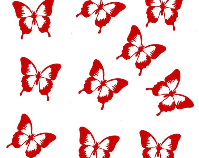 Butterflies stickers 10 pieces window stickers,tile decoration