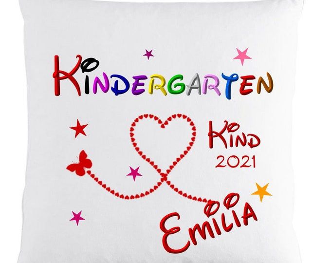 Gift first nursery day ++Nursery child 2021 pillow with name personalized gifts girl boy nursery gift