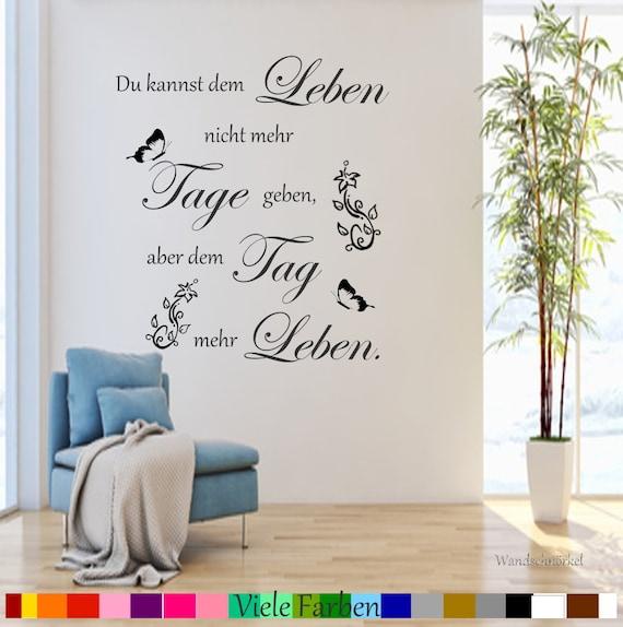 Wall Tattoo Music is my life NR 3 Wall Decals Living Room Wall Sticker hallway