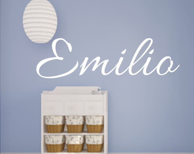 Names Wall Decal Sticker for the Wall Children's Room Girls Boys Children Wall Sticker Lettering