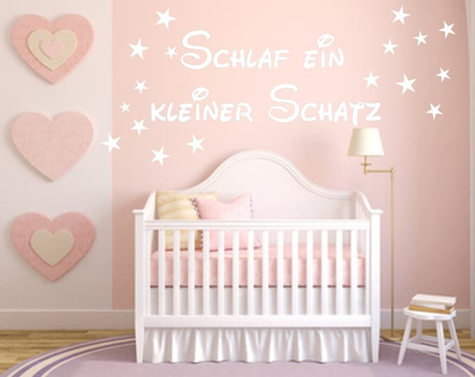 Wall Decals Children's room sticker banner Star Wall decors