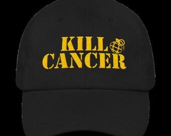 CHILDHOOD cancer awareness cap