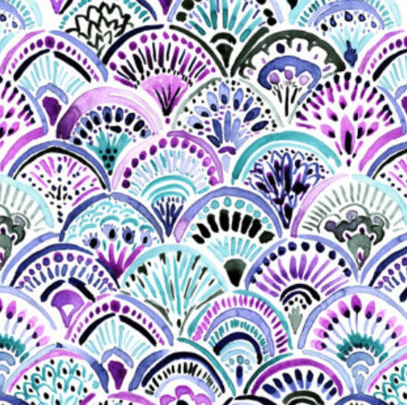 Changing Pad Cover Purple Mermaid Scales Baby Girl Mermaid Tail Fitted Crib Sheet Toddler Crib Sheet Girl Bedding