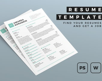 Resume Template 44 MS Word CV Template Simple Professional