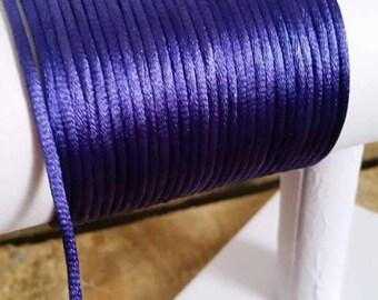 """1m de cordon """"queue de violet 3mm"""
