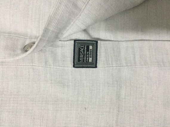 cudroy versace three button embroided embroided of white sale kind Rare down logo 56nIqwYA