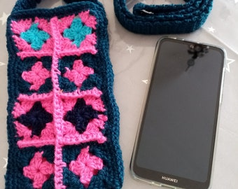 either laptop cover or crochet glasses with new wool