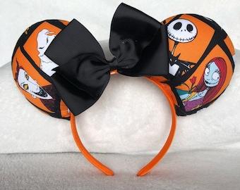 Nightmare Before Christmas Ears - Orange