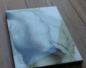 blue&gray abstract painti...