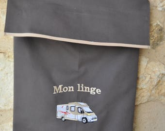 Mini van brodé et personnalisé polo shirt