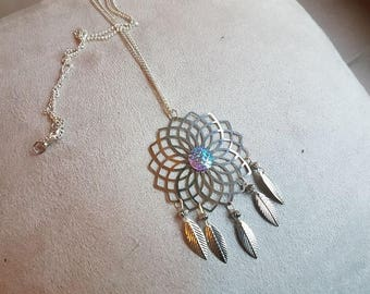large scale sirena collection necklace